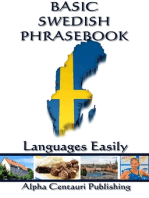 Basic Swedish Phrasebook