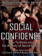 Social Confidence - How to Overcome the Anxiety of Social Events (NLP series for people who stammer)