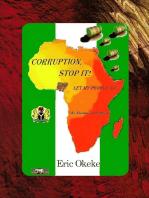 Corruption, Stop it!