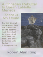 A Christian Rebuttal to Sarah LaNelle Menet's There is No Death