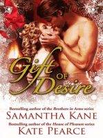 Gift of Desire (Hot Christmas Love Stories from Samantha Kane and Kate Pearce)