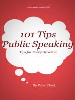 101 Tips Public Speaking