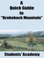 """A Quick Guide to """"Brokeback Mountain"""""""