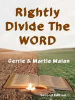 Rightly Divide The Word