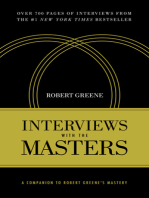 Interviews with the Masters