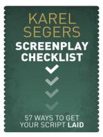 The Screenplay Checklist