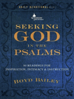 Seeking God in the Psalms