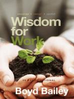Wisdom for Work