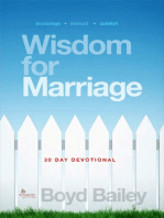 Wisdom for Marriage