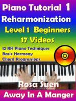 Rosa's Adult Piano Lessons Reharmonization Level 1