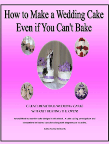 How to Make a Wedding Cake Even if You Can't Bake