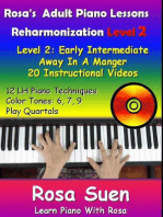 Rosa's Adult Piano Lessons Reharmonization Level 2