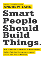 Smart People Should Build Things