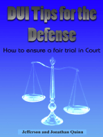DUI Tips For The Defense