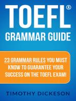 TOEFL Grammar Guide