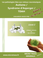 Les pathologies liées aux métaux neurotoxiques Autisme / Syndrome d'Asperger / TDAH