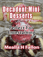 Decadent Mini Desserts