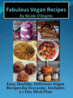 Fabulous Vegan Recipes