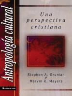 Antropología Cultural: Una perspectiva cristiana