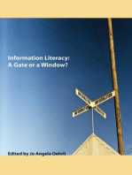 Information Literacy: A Gate or a Window?