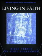 Living in Faith Bible Verses
