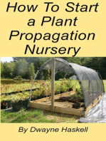 How To Start a Plant Propagation Nursery