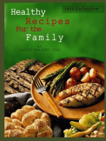Healthy Recipes For the Family 2012 Collection