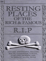Resting Places of the Rich and Famous