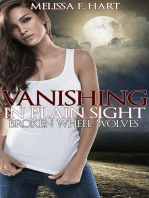 Vanishing in Plain Sight (Broken Wheel Wolves, Book 2) (Werewolf Romance)