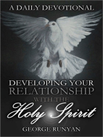 A Daily Devotional Developing Your Relationship with the Holy Spirit