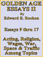 Golden Age Essays II