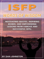ISFP Wisdom From The Red Carpet