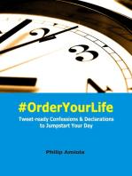 #OrderYourLife