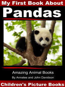 My First Book about Pandas: Children's Picture Books