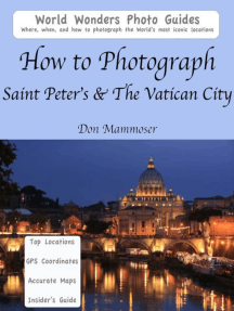 How to Photograph Saint Peter's & The Vatican City