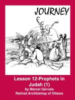 Journey - Lesson 12 - Prophets in Judah (1)