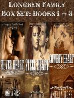 Longren Family Box Set 1 – 3 (Historical Cowboy Romance)