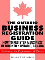 The Ontario Business Registration Guide