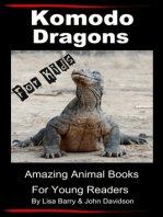 Komodo Dragons For Kids: Amazing Animal Books for Young Readers