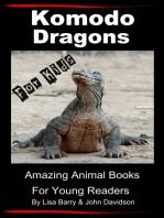 Komodo Dragons For Kids