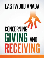 Concerning Giving and Receiving