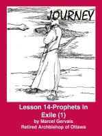 Journey - Lesson 14 - Prophets in Exile (1)