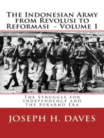 The Indonesian Army from Revolusi to Reformasi Volume 1