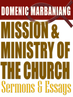 Mission and Ministry of the Church