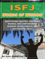 ISFJ Words of Wisdom and Guidance