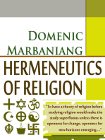 Hermeneutics Of Religion