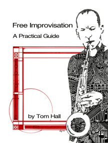 Free Improvisation: A Practical Guide