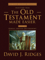 Selections from the Old Testament Made Easier, Revised Second Edition (Family Deluxe Edition) Vol. 1