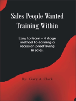 Sales People Wanted