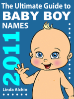 The Ultimate Guide to Baby Boys Names 2011